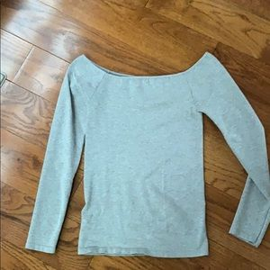 Women's Free People XS/S off shoulder fitted top